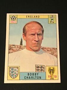Unused Panini World Cup Mexico 70 (1970) Card - BOBBY CHARLTON (England)