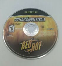 Outlaw Volleyball Red Hot Microsoft Xbox Video Game only