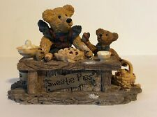 Boyds Bears: The Baker With Sweetie Pie. Nos