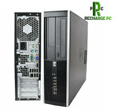 HP Desktop Computer Intel Core i5 Business PC 6300 750GB HDD Win 10 PRO SFF 8GB
