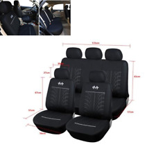 Car Seat Covers 5 seats Full Set Black Seat Protector Auto Accessories Universal