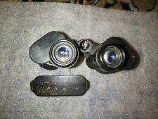 WWII German Smooth Ocular 7 x 50 Zeiss Binoculars  Gas Mask wooden benutzer