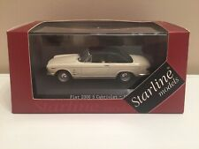 █▓▒░★ 1/43 FIAT 2300 S CABRIOLET CLOSED - 1962 STARLINE MODELS 560511 NEUF ★░▒▓█