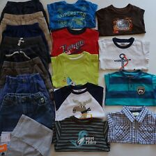 Boys Size 3T Summer Clothes Lot of 18 Items L2-19