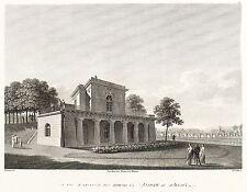 Dresda-Brühlsche terrazzo-BELVEDERE-Philipp Veith-ACQUAFORTE 1808