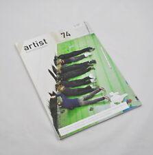 artist Kunstmagazin 74 (2008) Elina Brotherus, André Cadere, Janneke de Vries