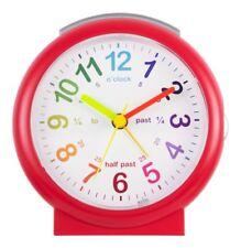 Acctim 15214 Lulu Time Teaching Alarm Clock Red