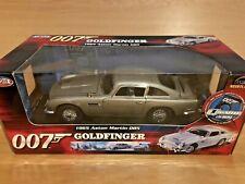 Ertl Joyride 33745 James Bond Aston Martin DB5 With Gadgets Goldfinger 1:18