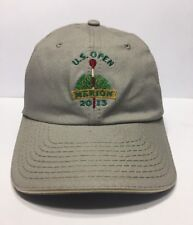 US Open Merion 2013 Golf Cap Hat USGA Member Adult Adjustable 100% Cotton