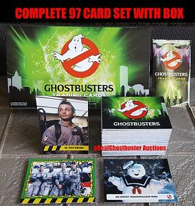 2016 Cryptozoic Ghostbusters Complete 97 Card Set + Box - Base Set & 5 Subsets