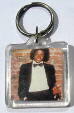 Michael Jackson Porte-Clés OFF THE WALL Porte-Clé Porte-Clef Keyring Keychain