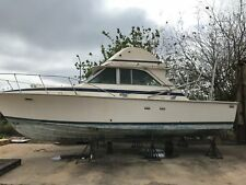 New listing Bertram 1974 Sportfish 35' bare hull project
