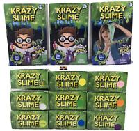 KRAZY SLIME Do It Yourself Slime Kit Glow Glitter DIY Make Your Own Slime Kit