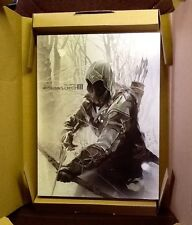 THE ART OF ASSASSINS CREED III LIMITED 500 SPECIAL SLIPCASE EDITION 2 LITHOS NEW