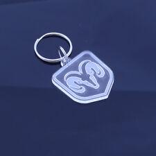 Dodge RAM Car Pick Up Truck Badge Keyring - Handmade Laser Cut Gift