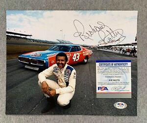 NASCAR GREAT RICHARD PETTY AUTOGRAPH 8x10 PORTRAIT PHOTO PSA/DNA AK16278