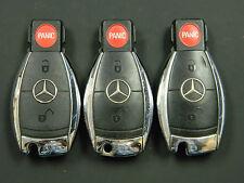 LOT OF 3  Mercedes Benz Infra Red Chrome Key Keyless  Fob OEM IYZ 3317 IYZ3317
