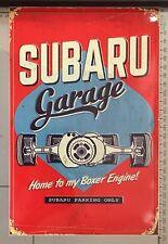 Subaru Garage Turbo STI Impreza WRX Racing Car Wall Decal - Full Colour Sticker