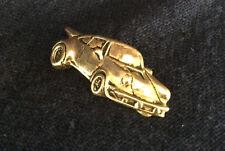 14K Yellow Gold Porsche 930 Turbo Carrera - 7.35gr Piece of Art One-off Pendant