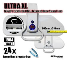 Ultra XL Steam Iron Press (90cm; 1,904w) Europe's Largest & Most Advanced Press!