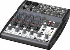 Behringer XENYX802 Analog Mixer - 8 Channels MISSING CORD