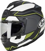 ARAI CHASER X SENSATION YELLOW MOTORCYCLE HELMET - LARGE