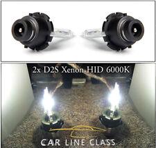 2x D2S Bulbs Hid Xenon White 6000K Low Beam Headlight Mercedes A C S CLK SLK ML