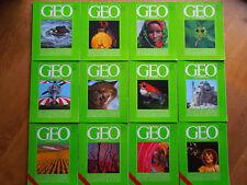 12  GEO-Magazine Komplett - Ausgabe 1983 (  Hefte 1-12 )