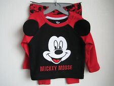 Primark Disney Mickey Mouse Baby Long Sleeved tshirt top and leggings 3-6 months