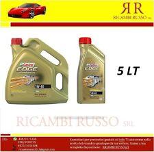 OLIO MOTORE CASTROL EDGE 5W40 TITANIUM FST TURBO DIESEL 5 litri dexos2 LONGLIFE.