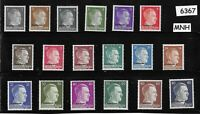 MNH Adolph Hitler stamp set / WWII Third Reich / Occupation Ukraine Overprints