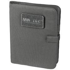 Mil-Tec Tactical Notebook Medium Writing Notepad Travel Combat Notes Urban Grey
