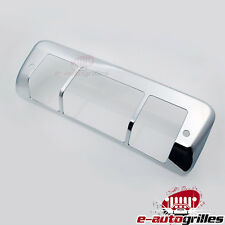 Triple Chrome Plated ABS Third Brake Tail Light Cover for 04-08 Ford F150