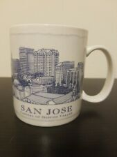 NEW Starbucks Coffee San Jose Capital Of Silicon Valley Architecture Series Mug