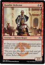 Humble Defector FOIL Masters 25 NM-M Red Uncommon MAGIC GATHERING CARD ABUGames