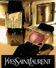 100% AUTHENTIC Ltd Edition YSL Couture Swarovski Makeup JEWELLED CHARM Bracelet