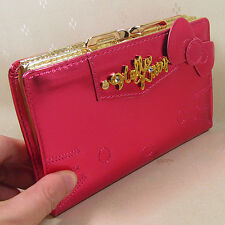 HelloKitty Hasp  Wallet Purse 2017  New Cute Pu Bow Middle  Size
