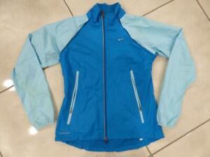 Ladies Nike Storm-Fit running jacket top, Zip off arms. Size Medium UK 12
