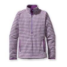 Patagonia Better Sweater Fleece Half Zip Purple Marsupial Striped Size Small