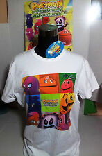"PAC-MAN T-SHIRT TG.""XL"" MAGLIETTA BANDAI AND GHOSTLY ADVENTURES ORIGINALE"
