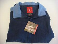 NEW Forrester's Ladies Half Zip Navy/Aqua Golf Wind Shirt Size Large (Rd504) pt