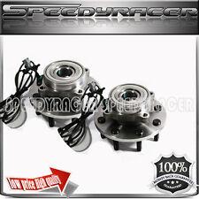 2000-2002 Dodge Ram 2500/3500 Truck Front Wheel Bearing & Hub Assembly 1 pair