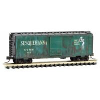 Susquehanna 40' Standard Boxcar Weathered Micro-Trains MTL #020 44 670 N-Scale