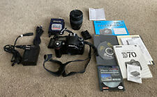 Nikon D70 6.1MP Digital SLR Camera Body w/ Battery and Lens