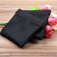 Portable Pouch Case For Earphone Leather Replacement Carry Small Storage Bag SK