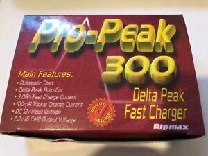 PRO-PEAK 300 CHARGER DELTA PEAK FAST CHARGER FOR 7.2VOLT NICAD PACKS RIPMAX