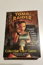 Tomb Raider Trapped In The Tombs Quest Deck Collectible Card Game New NIB B8