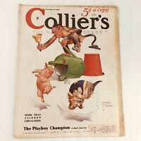 VTG Collier's Magazine November 17 1934 The Playboy Champion by Peter B. Kyne