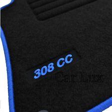 Alfombrillas Alfombras a medida para PEUGEOT 308 CC Cabrio EDITION Velour azul