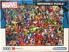 Marvel Impossible Puzzle, 1000 Teile, 50 x 69 cm - Clementoni